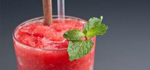 Raw (Alcohol-Free) Strawberry Mojito Slushie