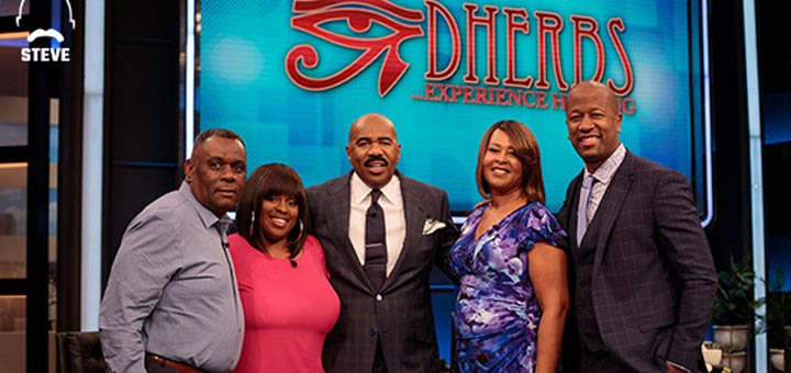 A.D. Dolphin Talks With Inspirational Cleansing Family On Steve TV