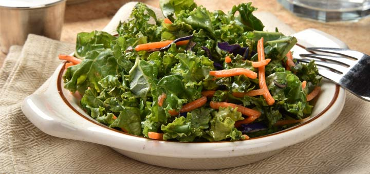 Kale, Apple And Carrot Salad