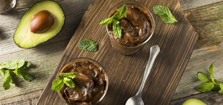 Raw Avocado Chocolate Mousse