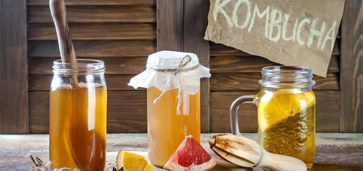 6 Health Benefits Of Drinking Kombucha