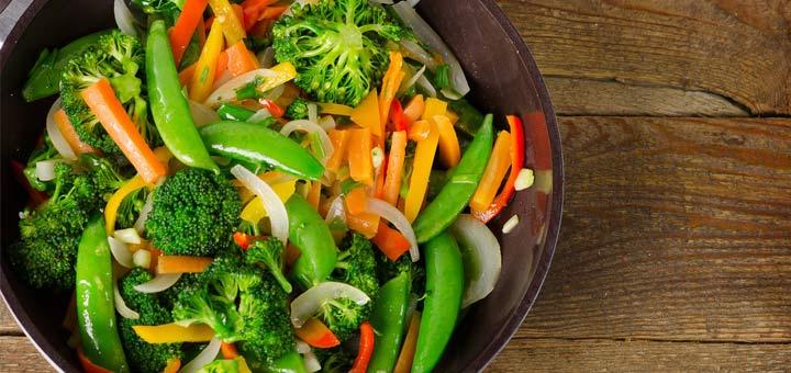 Marinated Vegetable Stir (No)Fry