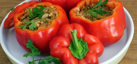 Raw Stuffed Bell Peppers