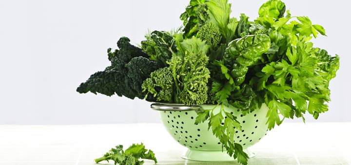 A Nutritional Comparison Of 6 Leafy Greens