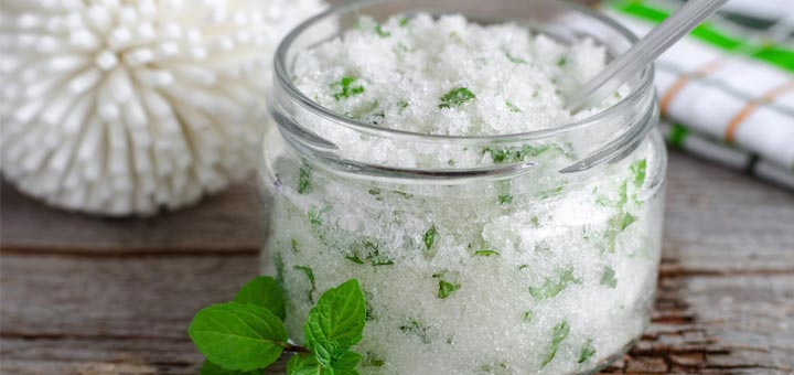 Coconut Lime Foot Scrub For Healthier Feet