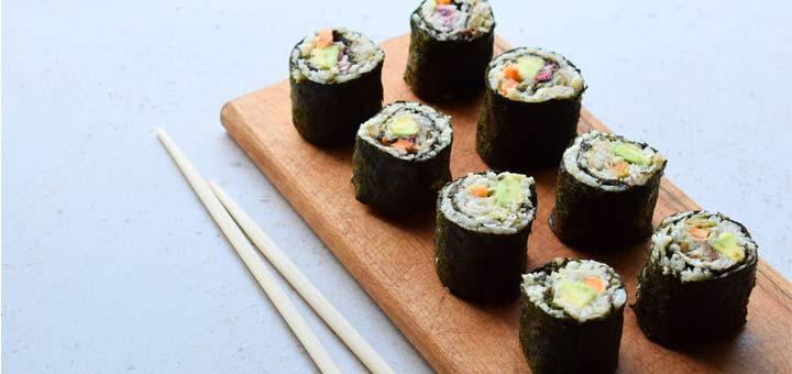 cauliflower-rice-sushi