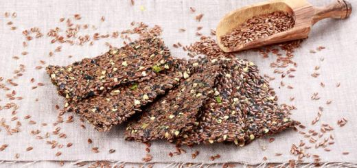Dehydrated Rosemary Flax Crackers