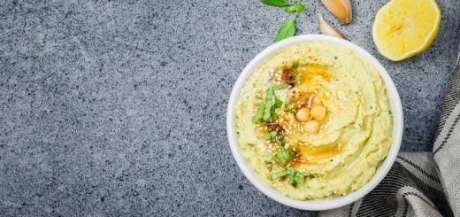 Cucumber Chickpea Hummus