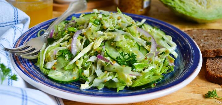 Green Veggie Crunch Salad