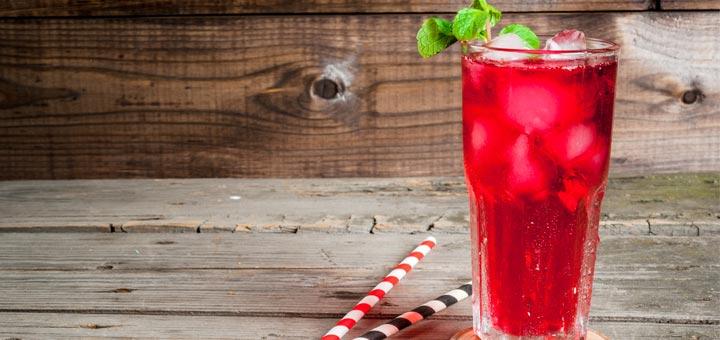 Healthy Red Soda