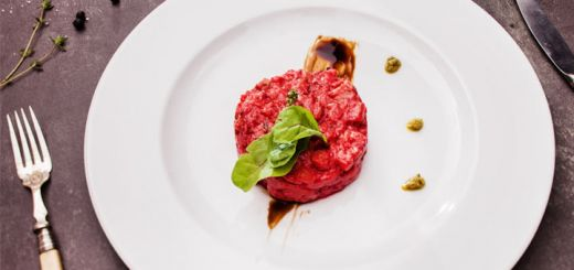 Beet And Portobello Tartare