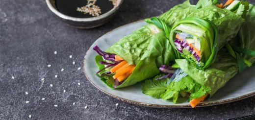 Thai Romaine Wraps For An Easy Entree