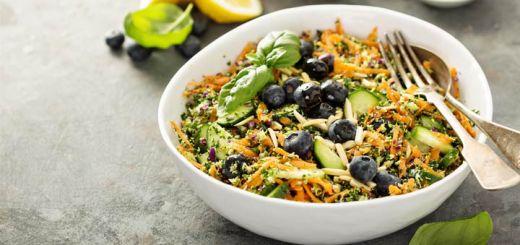 Detox Kale Salad With A Citrus Dressing