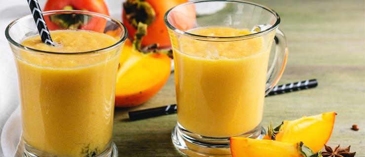 persimmon-smoothie