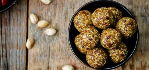 Raw Vegan Pistachio Sesame Seed Balls