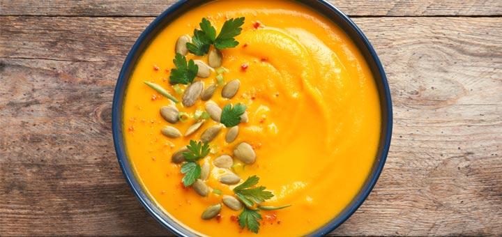 Roasted Pumpkin Apple Soup