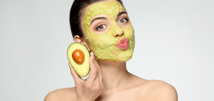 Homemade Moisturizing Avocado Face Mask