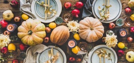 Raw Vegan Thanksgiving Menu Ideas