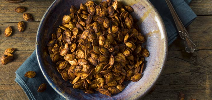 The Perfect Roasted Pumpkin Seeds