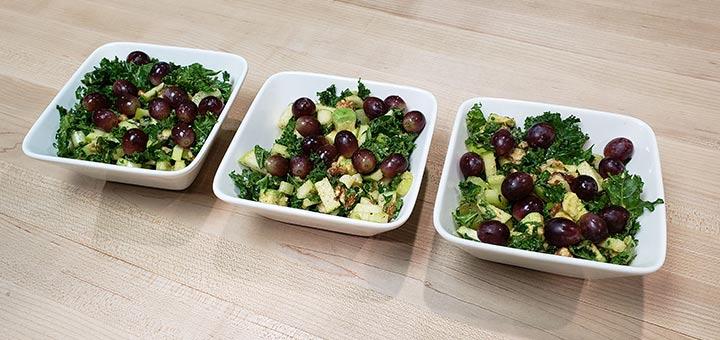 Avocado & 12 Grape Salad With Walnuts