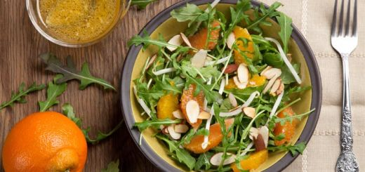Cara Cara Orange And Arugula Salad