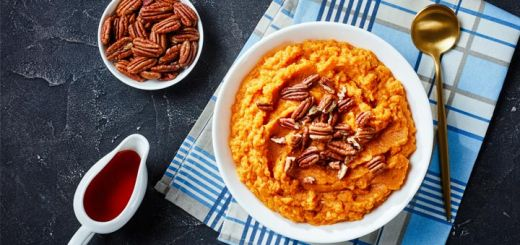 Cinnamon Maple Instant Pot Mashed Sweet Potatoes