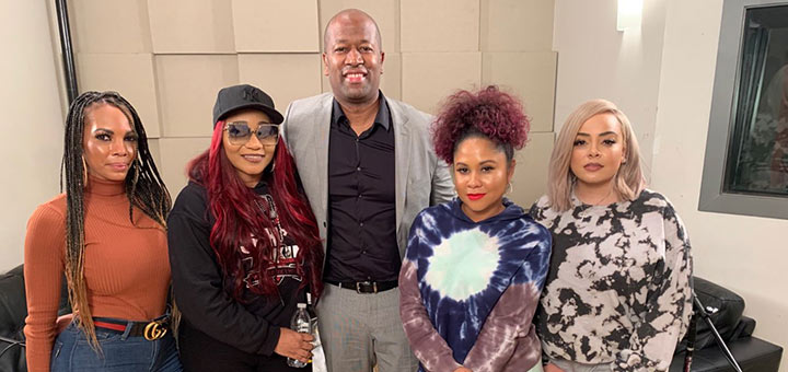 Dherbs CEO Talks Cleansing With Angela Yee On Her Lip Service Podcast