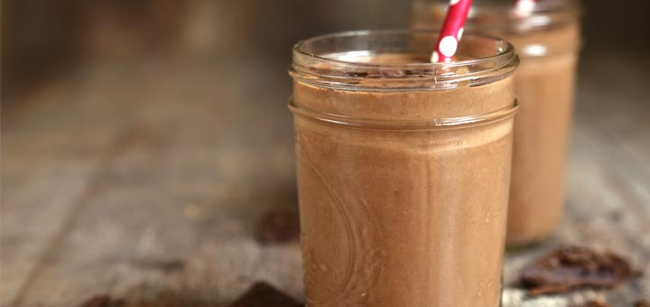 Keto-Approved Raw Vegan Chocolate Avocado Smoothie