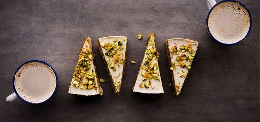Raw Pistachio Cake
