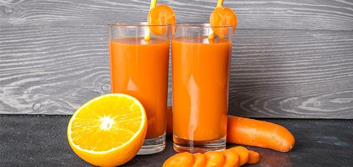 Immune-Boosting Citrus Carrot Smoothie