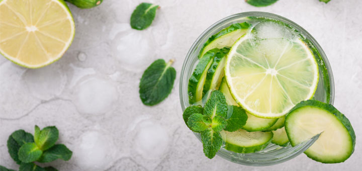 Cucumber Lime Electrolyte Drink