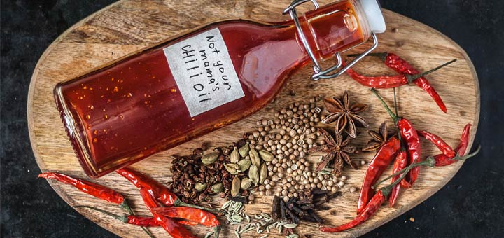 Authentic Homemade Chili Oil