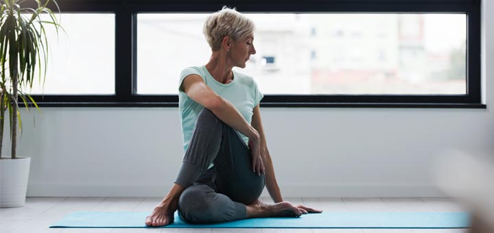 6 Effective Yoga Poses For Women Over 60