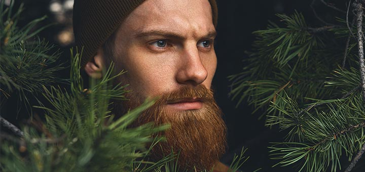 Homemade Natural Juniper Spice Beard Balm