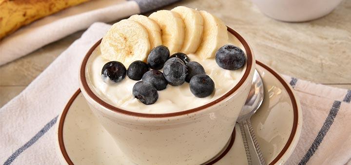 Raw Vegan Banana Cashew Yogurt
