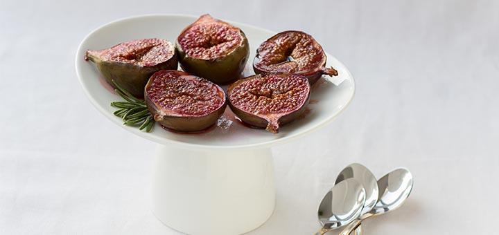 Honey Balsamic Roasted Figs