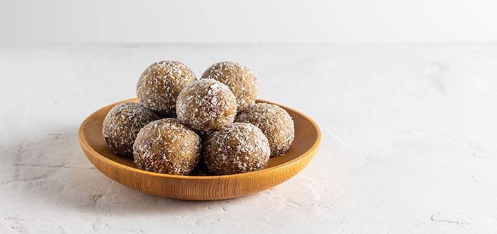 Coconut Ginger Energy Balls