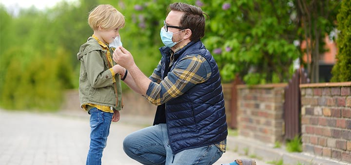How To Talk To Kids About Wearing Masks