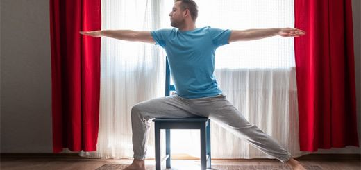 5 Simple Chair Yoga Poses For Seniors