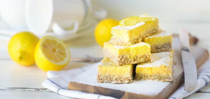 Raw Vegan Lemon Bars