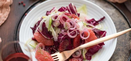 Blood Orange, Fennel & Radicchio Salad