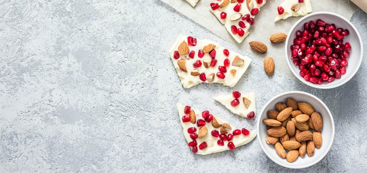 Vegan White Chocolate Peppermint Fudge