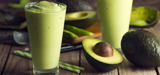 Refreshing Green Avocado Smoothie