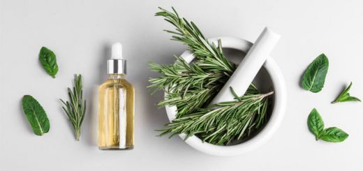 DIY Rosemary Hair Rinse For Hair Growth