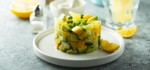 Mango, Avocado, & Cucumber Salad