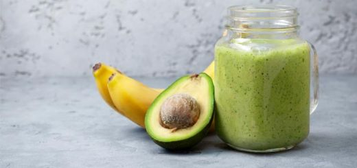 Spinach Avocado Smoothie (Paleo, Raw, Gluten Free)