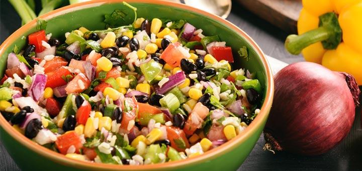 Cowboy Caviar (a.k.a.) Black Bean Corn Salsa