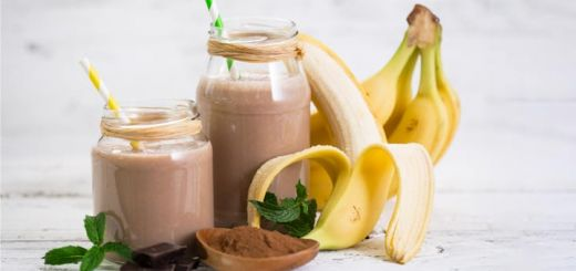 Raw Vegan Chocolate Banana Smoothie