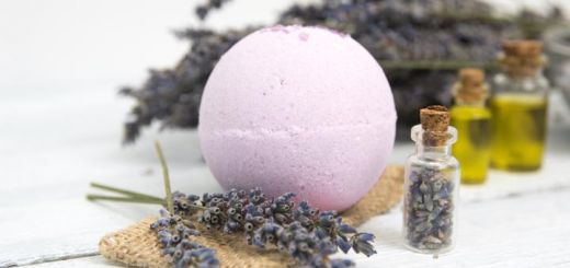 Soothing DIY Lavender Oatmeal Bath Bombs