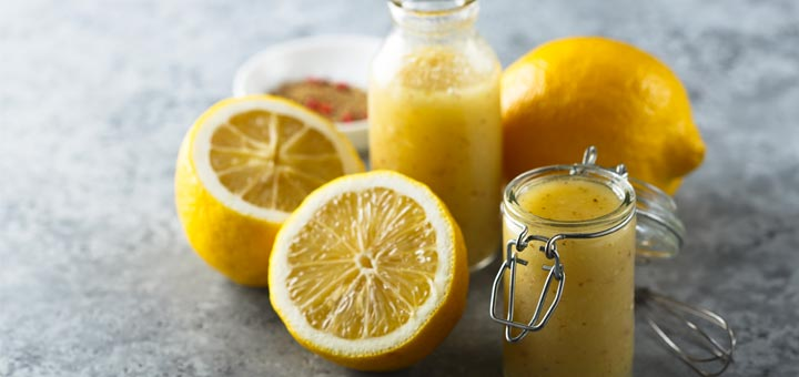 Lemon Turmeric Superfood Salad Dressing